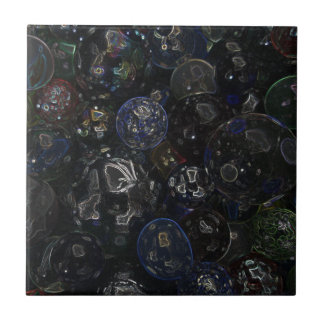 Holographic Marbles Ceramic Tile