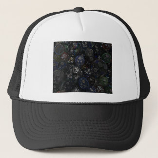 Holographic Marbles Trucker Hat