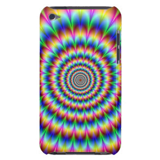 Holographic Optical Illusion Spiral Rainbow iPod Touch Cases