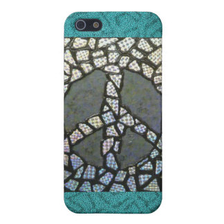 Holographic Peace iPhone case
