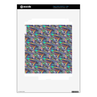 holographic silver decals for the iPad 2
