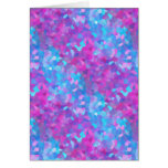 Holographic Sparkles Pattern Greeting Card