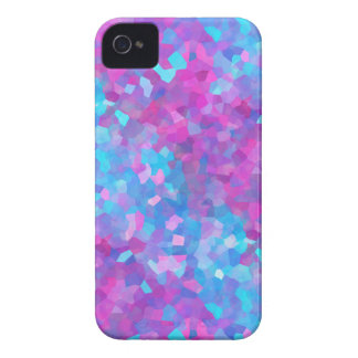 Holographic Sparkles Pattern iPhone 4 Case-Mate Case