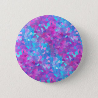Holographic Sparkles Pattern Pinback Button