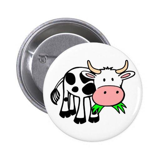 Holstein cow button