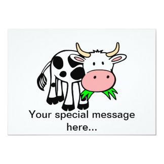 Holstein cow card