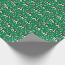 Holstein Cow Cattle Christmas Wrapping Paper