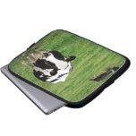 Holstein cow computer sleeve