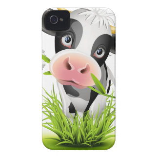 Holstein cow in grass Case-Mate iPhone 4 case