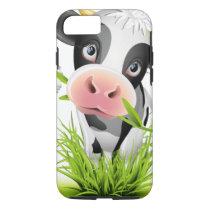 Holstein cow in grass iPhone 7 case