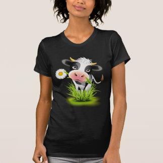 Holstein cow in grass T-Shirt