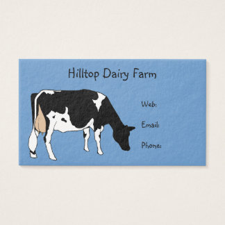 Cow drawing business cards templates zazzle holstein cow line drawing dairy milk farm business card colourmoves