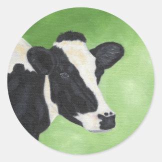 Holstein cow sticker