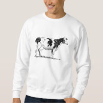 Holstein Cow Sweatshirt