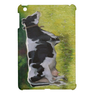 Holstein Dairy Cow: Oil Pastel Painting Case For The iPad Mini