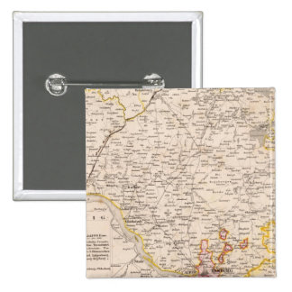 Holstein, Germany 2 2 Inch Square Button