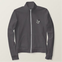 Holstein Letter U Embroidered Jacket