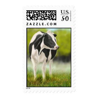 Holstein Milk Cow Postage