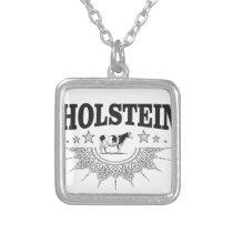 Holstein Power Silver Plated Necklace