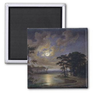 Holstein Sea - Moonlight, 1847 Magnet
