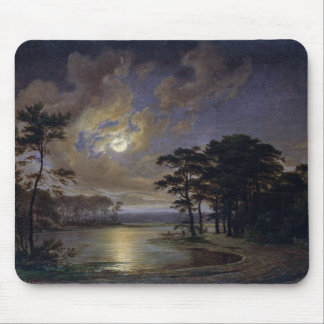 Holstein Sea - Moonlight, 1847 Mouse Pads