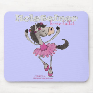 Holsteiner Horse Ballet Mouse Pad