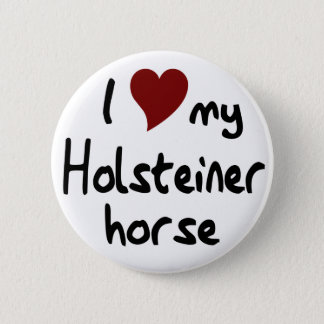 Holsteiner horse button