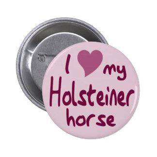 Holsteiner horse 2 inch round button