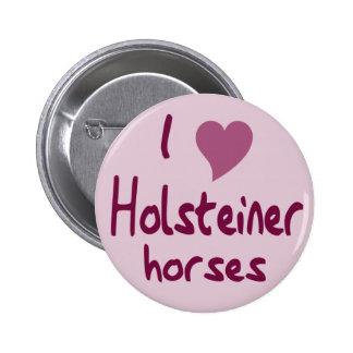 Holsteiner horses 2 inch round button