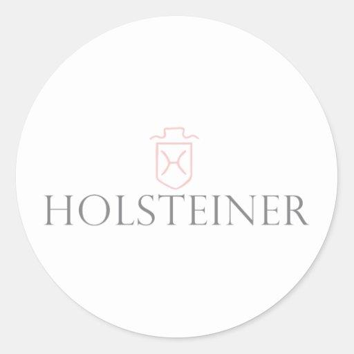 Holsteiner Round Sticker
