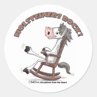 Holsteiners Rock! Classic Round Sticker