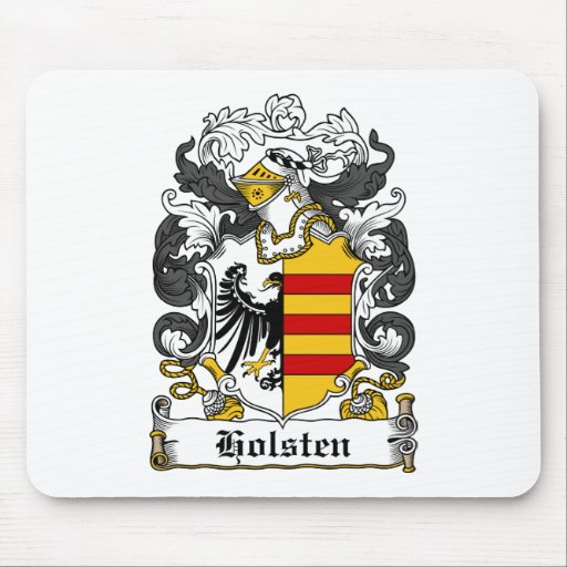 Holsten Family Crest Mouse Pad