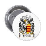 Holsten Family Crest Pinback Buttons