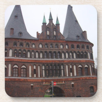 Holsten Gate -  Lubeck Germany Beverage Coaster