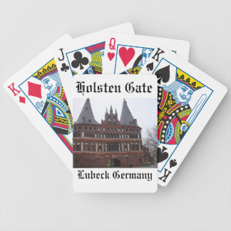 Holsten Gate -  Lubeck Germany Bicycle Playing Cards