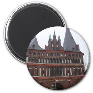 Holsten Gate -  Lubeck Germany Magnet
