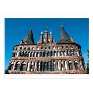 Holstentor en Lübeck Postal