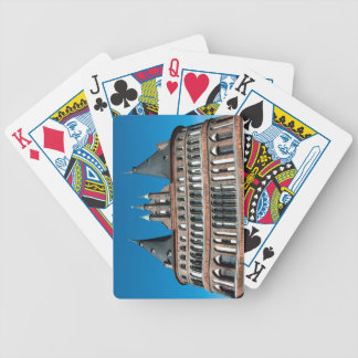 Holstentor in Lübeck Bicycle Poker Cards