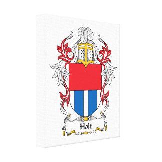 Holt Family Crest Canvas Print