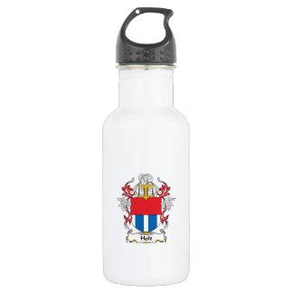Holt Family Crest Stainless Steel Water Bottle