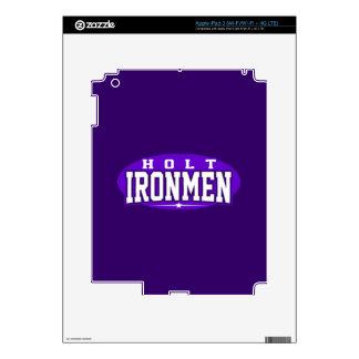 Holt High School; Ironmen iPad 3 Skin