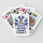 Holten Family Crest Bicycle Poker Cards