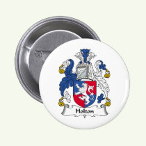 Holton Family Crest Button