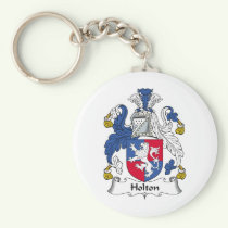 Holton Family Crest Keychain
