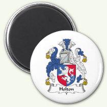 Holton Family Crest Magnet