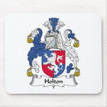 Holton Family Crest Mousepad