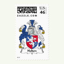 Holton Family Crest Stamps