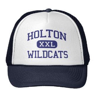 Holton - gatos monteses - High School secundaria - Gorras