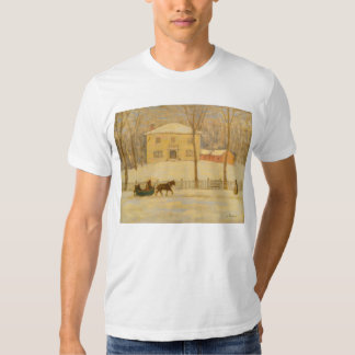 Holtons Old House in Montreal James Wilson Morrice T Shirt