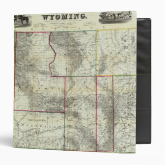 Holt's New Map, Wyoming Binder